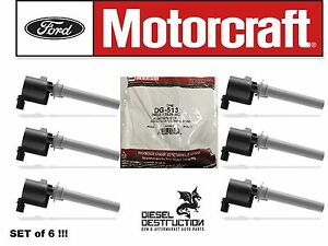New Genuine OEM Ford Motorcraft Ignition Coil DG-513 2M2Z-12029-AC Free Shipping
