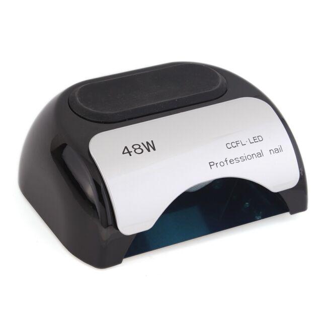 48W Pro CCFL & LED Nail Cure Lamp UV Gel Dryer Light Timer for Gel Polish US/EU