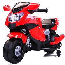 Moto motocicletta elettrica 6V per bambini Moto Corsa ROSSO
