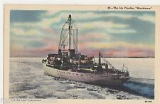 The Ice Crusher Mackinaw Shipping Postcard, B542