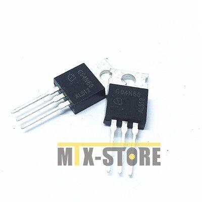3PCS SGP04N60 IGBT NPT 600V 9.4A 50W TO220-3 04N60