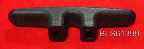 "Black Nylon 4.5/"" BOAT CLEATS Deck Dock Raft Marine Rope Line Tie-Off Holders 4"