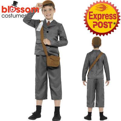 CK995 1940/'s School Boys Historical Fancy Dress Book Week Costume
