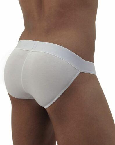 ErgoWear Brief Max Modal Bikini Slip Low Rise Cut Briefs White 0716 9