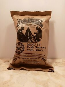 US ARMY MRE Meal Ready to Eat Menu 17 - US ARMY Military Sealed