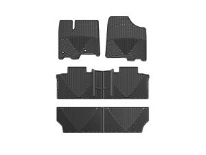 Weather Car Mats >> Weathertech All Weather Car Mats For Toyota Sienna 2013 2019 Black