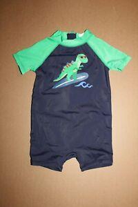 d50752ba99 NWT Gymboree Meow and Roar size 6-12 Months Blue Green Dinosaur Swim ...