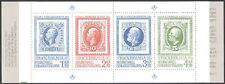 Sweden 1983 King Oscar II/Stamp-on-Stamp/Stockholmia/S-on-S/Royalty bklt n43101