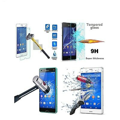 Tempered Glass Screen Protector Guard For Sony Experia Xperia Z3 Mini Compact