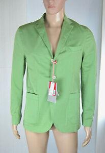 Giacca-Uomo-Blazer-FB-FASHION-Made-in-Italy-LU055-Verde-Tg-da-44-a-56