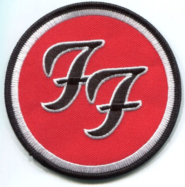 Foo Fighters Circle Ff Logo Embroidered Iron On Patch P392 Ebay