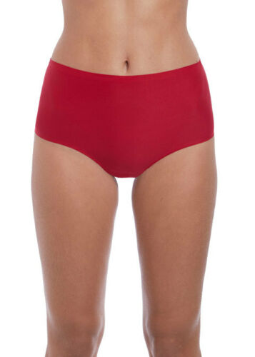 FANTASIE Smoothease One Size Fits All Stretch Brief Luxury Lingerie RED 2328