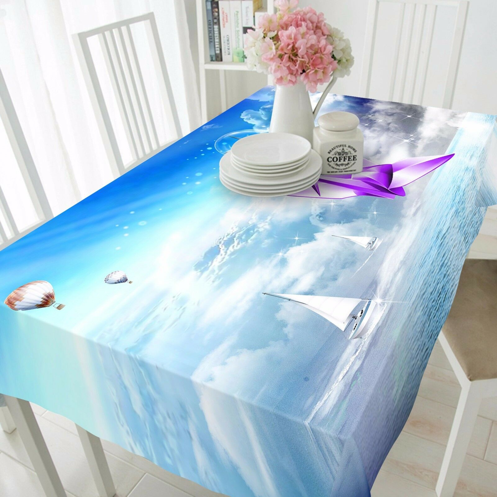 3D Scenery 45 Tablecloth Table Cover Cloth Birthday Party Event AJ WALLPAPER AU