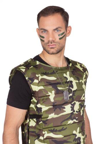 Détection de marque avec chaîne pour soldats Nouveau-Accessoires Accessoire Carnaval Faschin