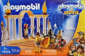 Playmobil-The-Movie-70076-Kaiser-Maximus-im-Colosseum-Marla-Ritter-Charlie-NEU