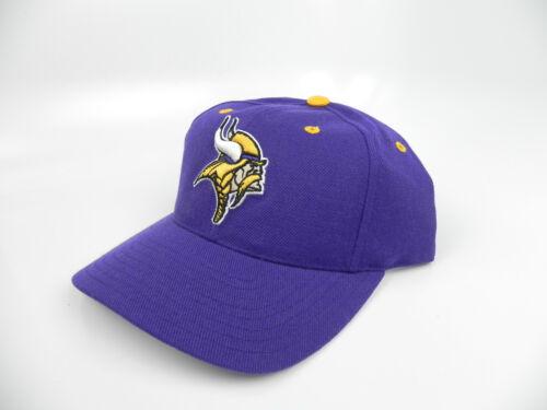 0ac61733c ... MINNESOTA VIKINGS NFL VINTAGE 1990s SNAPBACK RETRO 2-TONE CAP HAT NEW!  PUMA