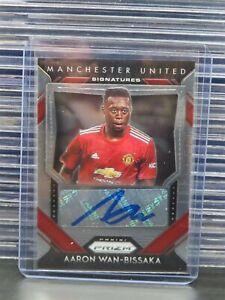 2020-21 Prizm Aaron Wan-Bissaka Autograph Auto #S-AWB Manchester United K76