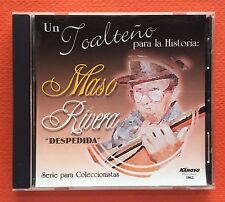 Maso Rivera Un Toalteno Para La Historia Solo En Navidad KANOSO CD Puerto Rico
