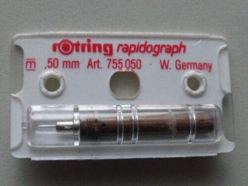 Original Zeichenkegel rOtring Rapidograph 0,50 mm NEU//OVP