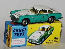 Corgi Toys 309 - Aston Martin Competition Model in Reprobox