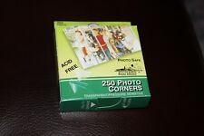 "Pioneer PCR-1 Photo Corners Self-Adhesive .5/"" 250//Pkg-Clear"