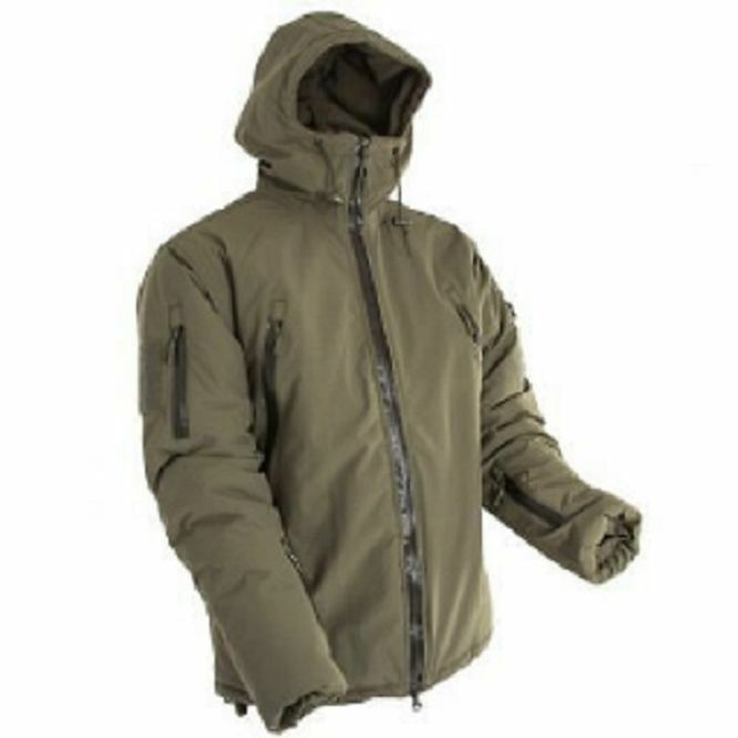 Performance Outdoor Inverno Giacca Parka Inverno Giacca verde Oliva
