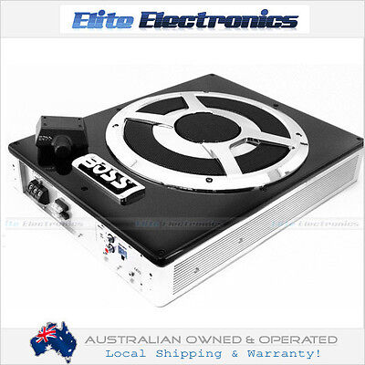 """BOSS AUDIO BASS1400 10"""" 1400W SLIM LOW PROFILE AMPLIFIED POWERED SUBWOOFER CAR"""