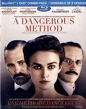 NEW DVD-BLU-RAY COMBO // A DANGEROUS METHOD // Keira Knightley, Viggo Mortensen,