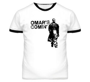 Omar Little Comin Hustle Wire T Shirt Any Color | eBay
