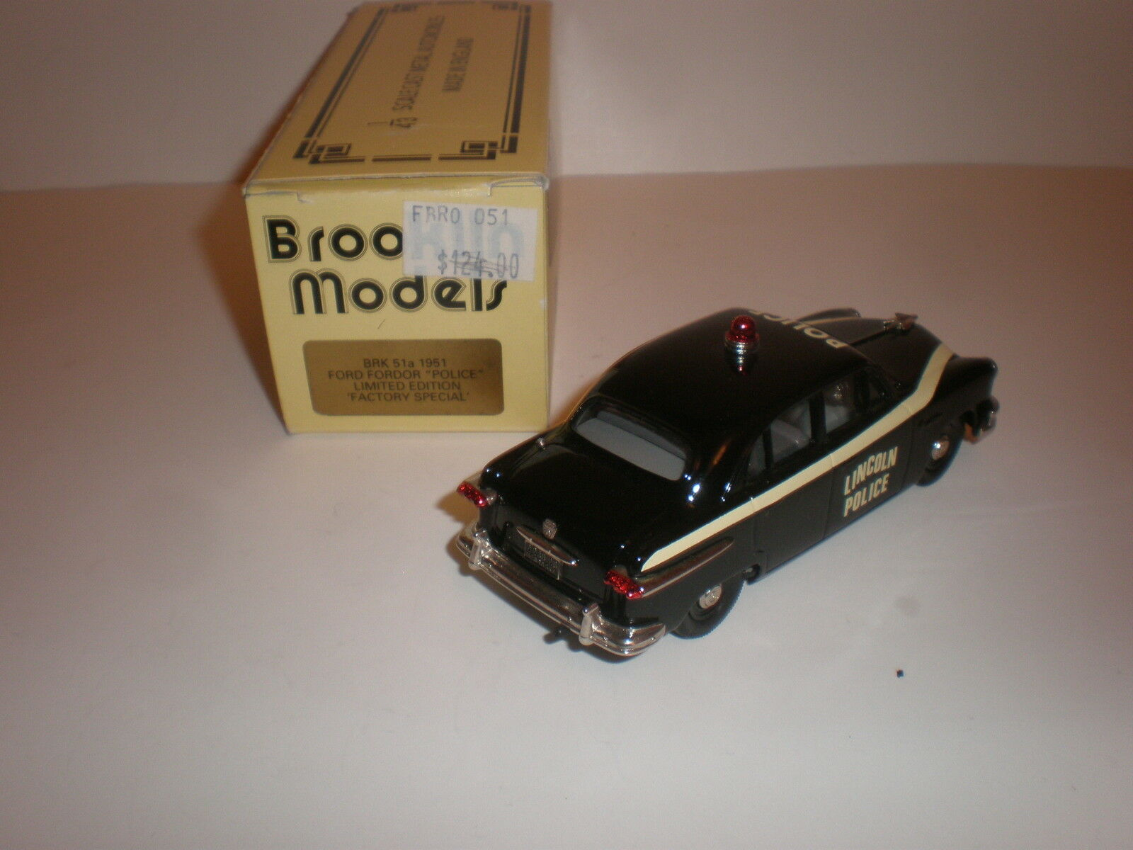 1 43 43 43 Brooklin Models BRK 51a 1951 Ford Fordor POLICE ltd Edition Factory Special 86f0ad