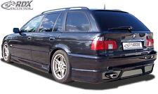 RDX Heckansatz BMW 5er E39 Touring Kombi Heck Ansatz Schürze Diffusor Hinten