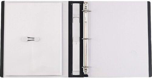 """Staples 1/"""" D-Ring Better Binder275 Sheet Capacity"""