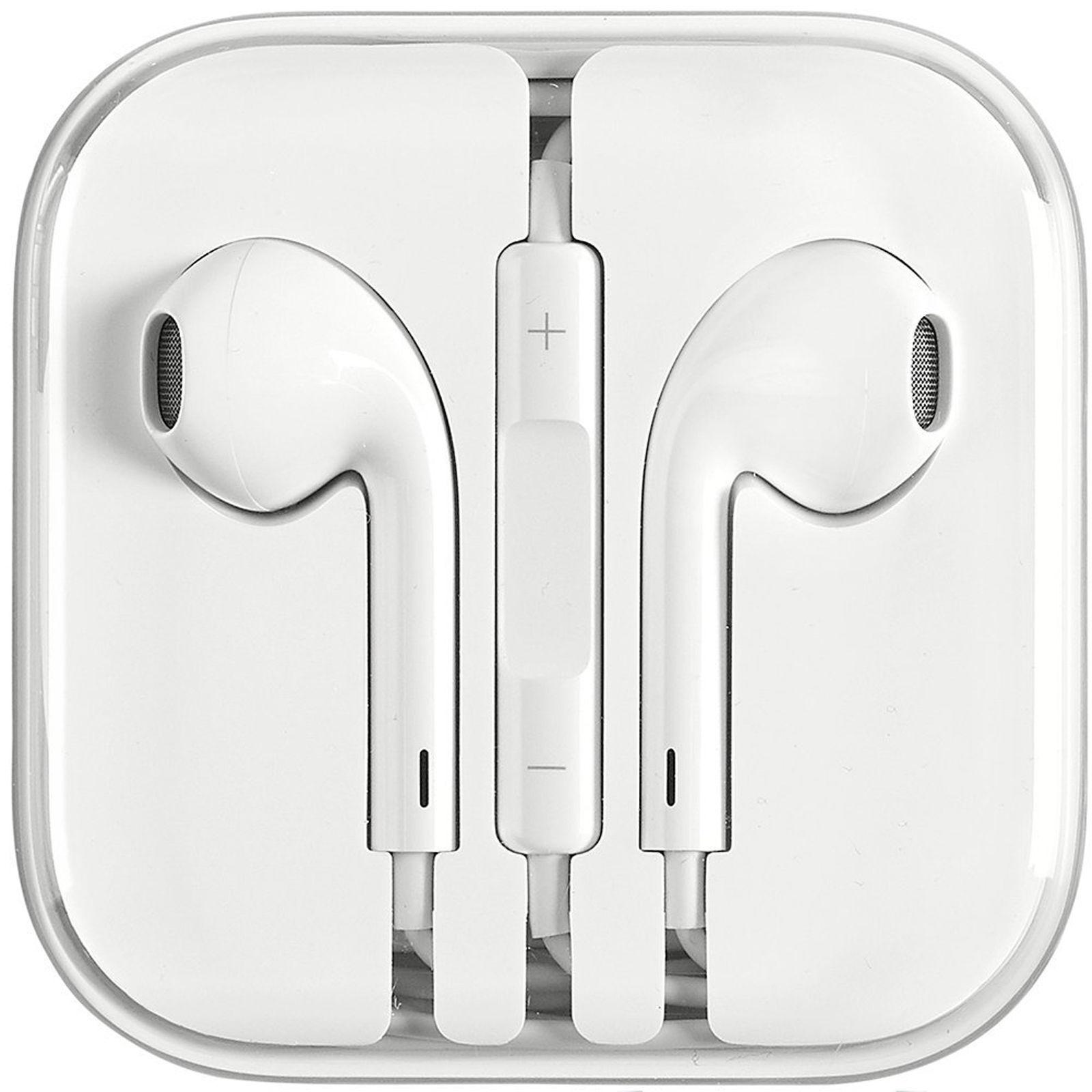 Original OEM Apple Earpods Earphones work iPhone 6S 6 5 5S 4S with Remote 1