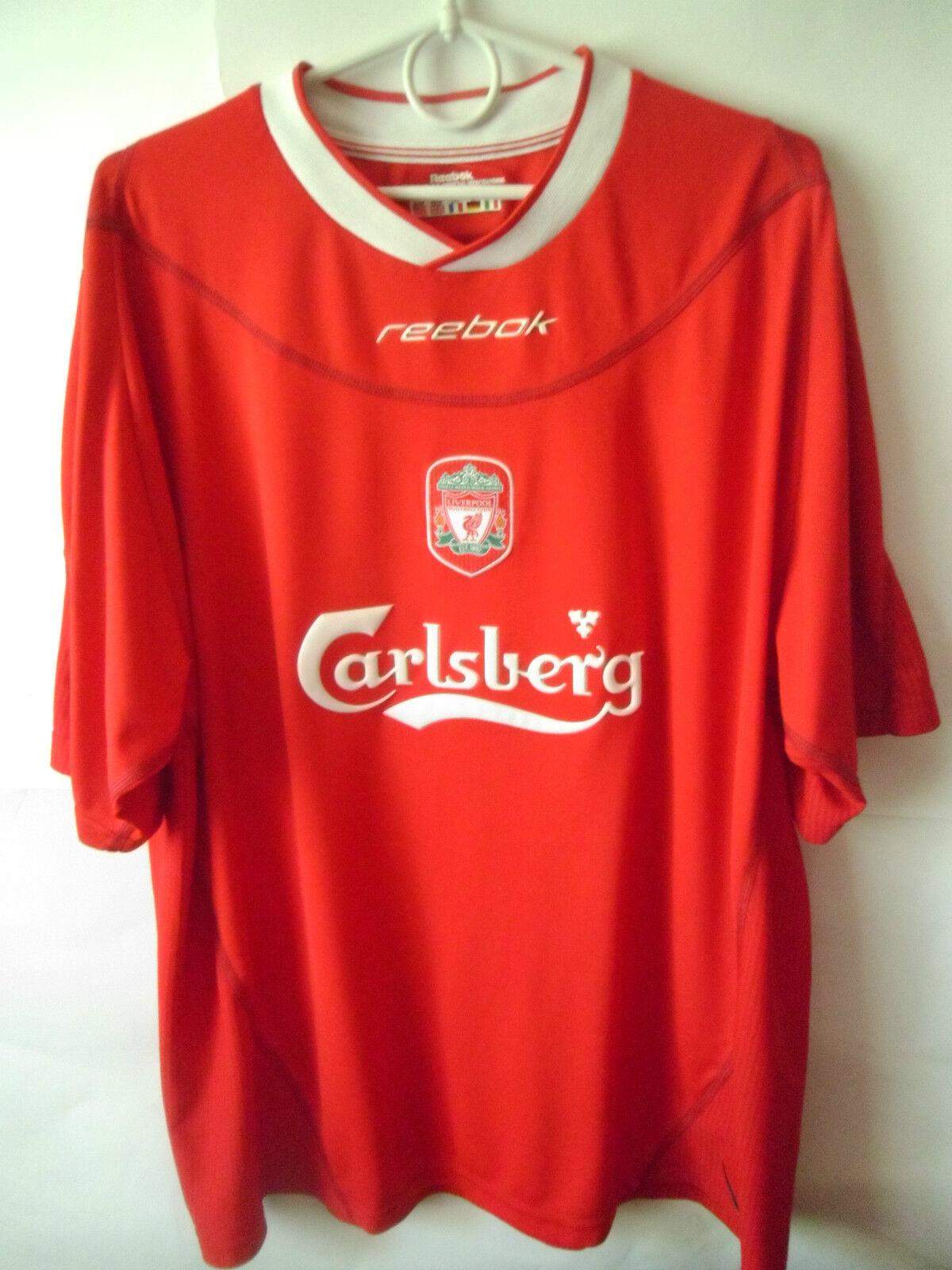 2002-04 Liverpool Home Shirt Jersey Trikot XL