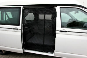 insektenschutz fliegengitter moskitonetz f r schiebet re magnete vw t5 t6 13 ebay. Black Bedroom Furniture Sets. Home Design Ideas