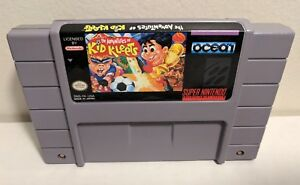 Adventures-of-Kid-Kleets-Super-Nintendo-SNES-Cart-Rare-Authentic