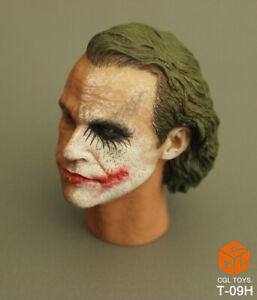 1-6-Scale-Custom-maennlichen-Batman-Die-Joker-Mann-Head-Sculpt-F-12-034-Hot-Toys-Figur