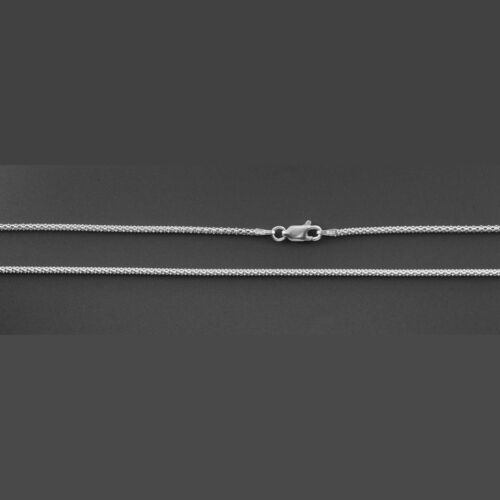 """ITALY 925 Sterling Silver Coreana Chain Necklace-Popcorn Chain Necklace 16/""""~24/"""""""