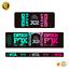 thumbnail 9 - STAR SAM® Bike shock absorber Gradient stickers 2021 Fox Float DPX2 Rear Shock