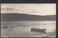 Sweden Postcard - Insjon, Dalarna County - Boat on Lake RS2291