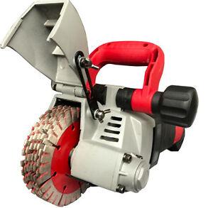 high quality wall groove cutting machine slotting machine for
