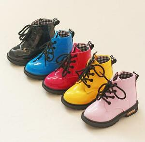 2016 Water-proof Spring Winter Baby Shoes Girls Boys Casual Boots Kids Shoes New