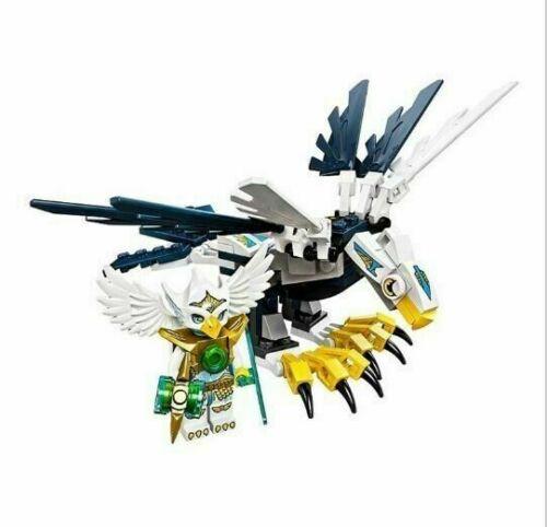 Eris-Chima-Eagle leggendaria Bestia-Building Block si adatta LEGO
