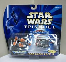 NEW STAR WARS EPISODE 1 POD RACER RACING PACK MICRO MACHINES II