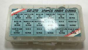 270 Piece HNBR GE-270 Shop Kit A/C Line Green O-Ring Assortment Kit