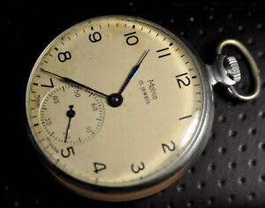"""Molnija"" ~15J  Rare cal.3602  Vintage 1/1965's  Russian Pocket watch"
