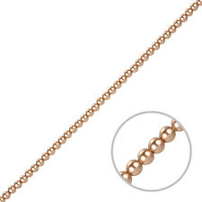 Swarovski Round Glass Pearls 5810 Crystal Rose Gold Beads 3mm Pack of 50 (J82/7)