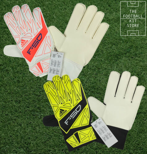 Adidas F50 Goalkeeper Gloves RedWhite or YellowBlack All Sizes
