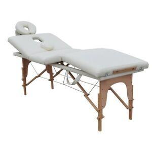 Custodia Per Lettino Da Massaggio.Lettino Da Massaggio 4 Zone Bianco Portatile 4 Cm Df095b Borsa