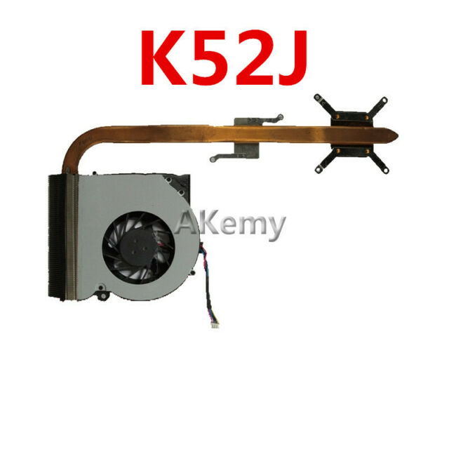 Original Heatsink For ASUS K52F X52F P52F K52J K52JR P52J X52J K52D X52D CPU Fan